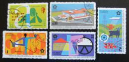 Poštovní známky Kuba 1970 Výstava EXPO Mi# 1574-78