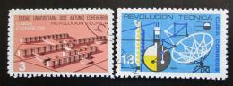 Poštovní známky Kuba 1965 Technická revoluce Mi# 1006-07