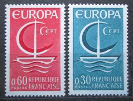 Poštovní známky Francie 1966 Evropa CEPT Mi# 1556-57