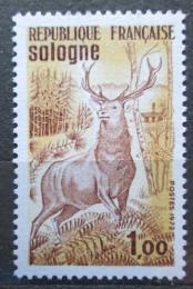 Poštovní známka Francie 1972 Jelen Mi# 1808