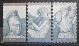 Poštovní známky San Marino 1981 Publius Vergilius Maro, básník Mi# 1230-32