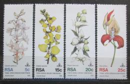 Poštovní známky JAR 1981 Orchideje Mi# 590-93