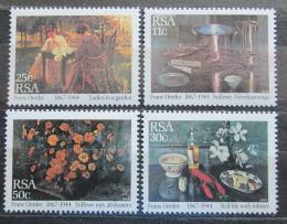 Poštovní známky JAR 1985 Umìní, Frans Oerder Mi# 665-68