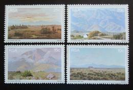 Poštovní známky JAR 1978 Umìní, Jan Ernst Abraham Volschenk Mi# 542-45