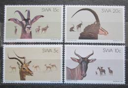 Poštovní známky Namíbie, SWA 1980 Antilopy Mi# 472-75