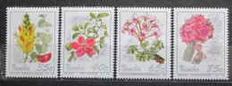 Poštovní známky Namíbie 1994 Kvìtiny Mi# 772-75