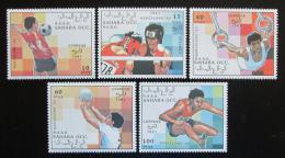 Poštovní známky Sahara 1991 LOH Barcelona Mi# N/N