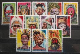 Poštovní známky Guinea 1965 Tanec a masky TOP SET Mi# 274-85 Kat 14€