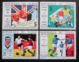 Poštovní známky Èad 1970 MS ve fotbale Mi# 309-12