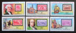 Poštovní známky Libérie 1975 Americká revoluce, 200. výroèí Mi# 953-58