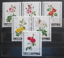 Poštovní známky Adžmán 1969 Rùže Mi# 405-10
