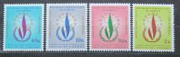 Poštovní známky Kongo Dem. 1969 Lidská práva pøetisk Mi# 326-29