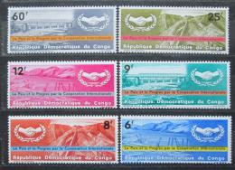 Poštovní známky Kongo Dem. 1965 OSN, 20. výroèí Mi# 240-45