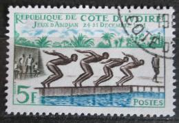 Poštovní známka Pobøeží Slonoviny 1961 Plavání Mi# 233