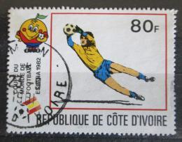 Poštovní známka Pobøeží Slonoviny 1981 MS ve fotbale Mi# 696