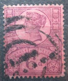 Poštovní známka Velká Británie 1887 Královna Viktorie Mi# 94 Kat 8€