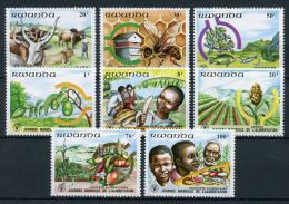 Poštovní známky Rwanda 1982 Svìtový den potravin Mi# 1159-66