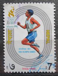 Poštovní známka Nepál 1996 LOH Atlanta Mi# 622