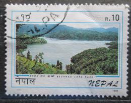 Poštovní známka Nepál 1996 Jezero Beganas Mi# 629
