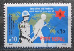 Poštovní známka Nepál 1998 Královská armáda v OSN Mi# 672