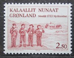 Poštovní známka Grónsko 1983 Založení Herrnhutu, 250. výroèí Mi# 146