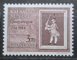 Poštovní známka Grónsko 1984 Christianshab, 250. výroèí Mi# 152