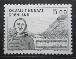Poštovní známka Grónsko 1984 Umìní, Henrik Lund Mi# 153