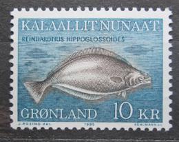 Poštovní známka Grónsko 1985 Reinhardtius hippoglossoides Mi# 162