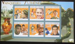 Poštovní známky Komory 2010 LOH Atény Mi# 2873-78 Kat 10€