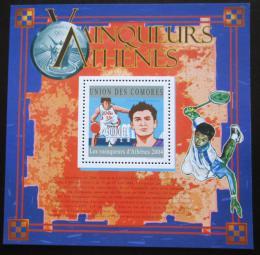 Poštovní známka Komory 2010 LOH Atény Mi# Block 603 Kat 15€