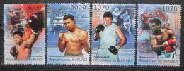 Poštovní známky Burundi 2012 Box, Muhammad Ali Mi# 2295-98 Kat 10€