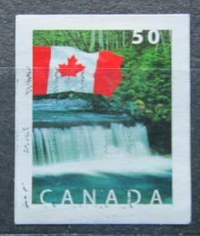Poštovní známka Kanada 2004 Státní vlajka a vodopády Shannon Mi# 2229