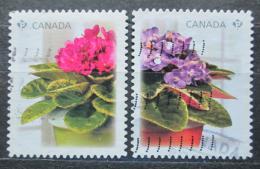 Poštovní známky Kanada 2010 Kvìtiny Mi# 2623-24