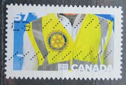 Poštovní známka Kanada 2010 Rotary Intl., 100. výroèí Mi# 2648