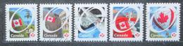 Poštovní známky Kanada 2011 Státní vlajka Mi# 2691-95
