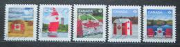 Poštovní známky Kanada 2013 Státní vlajka Mi# 2913-17 Kat 7€