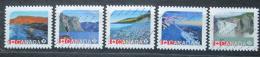 Poštovní známky Kanada 2014 Dìdictví UNESCO Mi# 3077-81 Kat 9.50€