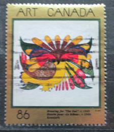 Poštovní známka Kanada 1993 Indiánské umìní, Kenojuak Ashevak Mi# 1355