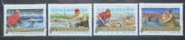 Poštovní známky Kanada 1993 Lidové písnì Mi# 1385-88