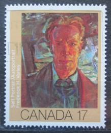 Poštovní známka Kanada 1981 Umìní, Frederick H. Varley Mi# 798