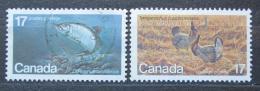 Poštovní známky Kanada 1980 Ohrožené druhy Mi# 764-65