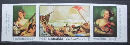 Poštovní známky Rás al-Chajma 1970 Umìní, Tiepolo neperf. Mi# 369,71,73 B Kat 12€