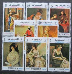 Poštovní známky Fudžajra 1968 Umìní Mi# 276-83 Kat 11€