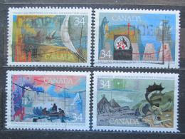 Poštovní známky Kanada 1986 Prùzkum Kanady Mi# 1004-07