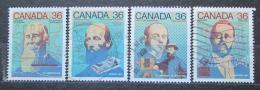 Poštovní známky Kanada 1987 Vynálezci Mi# 1048-51