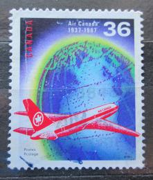 Poštovní známka Kanada 1987 Air Canada, 50. výroèí Mi# 1058