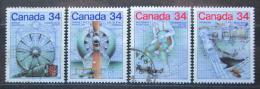 Poštovní známky Kanada 1986 Objevy Mi# 999-1002