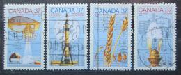 Poštovní známky Kanada 1988 Objevy Mi# 1086-89