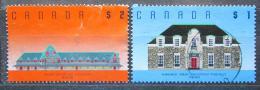 Poštovní známky Kanada 1989 Architektura Mi# 1132-33