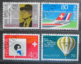 Poštovní známky Švýcarsko 1979 Výroèí a události Mi# 1150-53